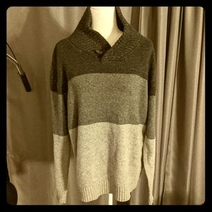 Gray Ombre Sweater